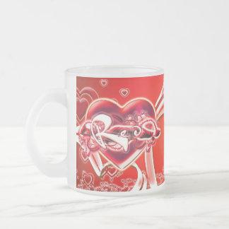 Mikala 10 Oz Frosted Glass Coffee Mug