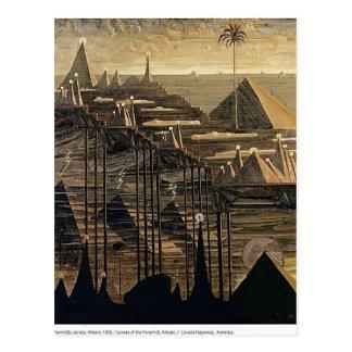 Mikalojus Ciurlionis- Alegro (sonata de pirámides) Postal