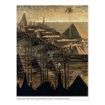 Mikalojus Ciurlionis- Alegro (Sonata of Pyramids) Post Card