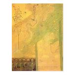 Mikalojus Ciurlionis- Scherzo (Sonata of Summer) Post Card