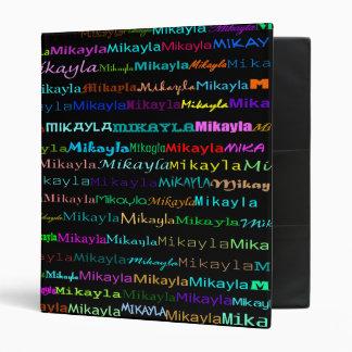 Mikayla Text Design I Binder
