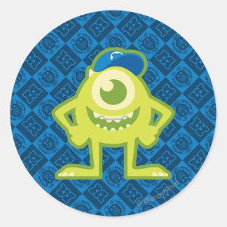 Mike 1 classic round sticker