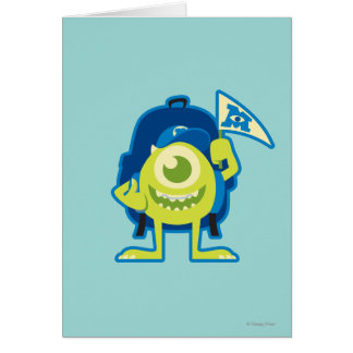 Mike 2 greeting card