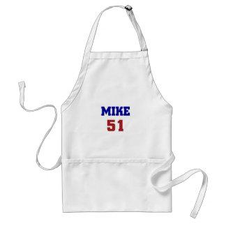 Mike 51 delantal