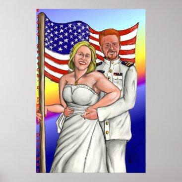 Mike and Lisa's Wedding Poster