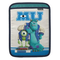 Mike And Sulley Mu Ipad Sleeve at Zazzle