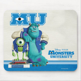 Mike and Sulley MU Mouse Pad