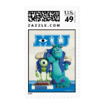 Mike and Sulley MU Postage Stamps
