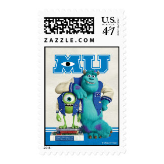 Mike and Sulley MU Stamp