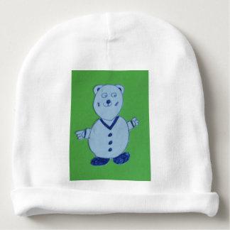 Mike Baby's Rabbit Skin Cotton Rib Infant Hat