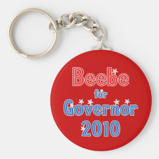 Mike Beebe for Governor 2010 Star Design Keychain