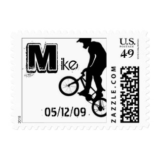 Mike Birthday or Bar Mitzvah Postage
