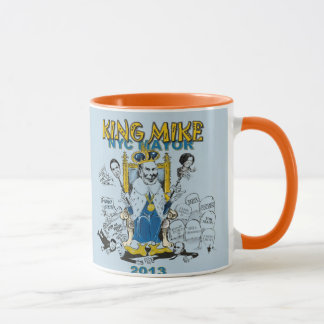 Mike Bloomberg King of NYC Mug