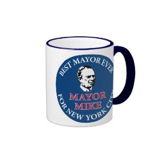 Mike Bloomberg para el alcalde Taza De Dos Colores