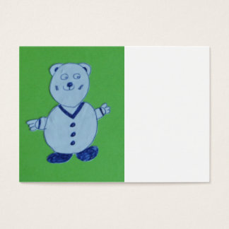 Mike Chubby Business Cards, 8.9 cm x 6.4 cm Business Card