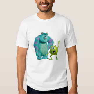 Mike clásico y Sully Disney que agita Remeras