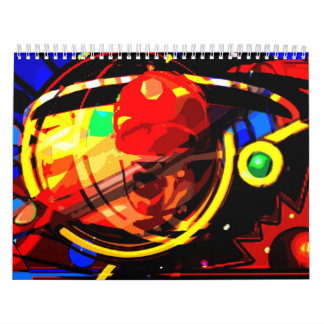 Mike Cressy Abstract Calendar