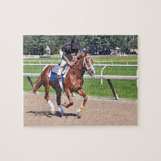 Mike Dilger Filly Jigsaw Puzzle