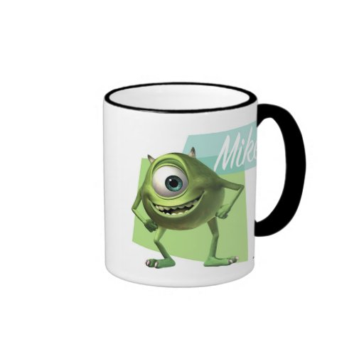 Mike Disney Ringer Coffee Mug