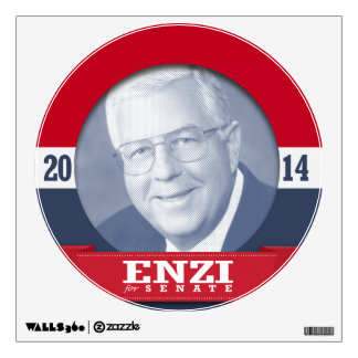 MIKE ENZI CAMPAIGN WALL STICKERS