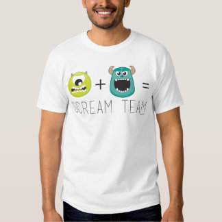 Mike+Equipo 2 de Sulley=Scream Playera