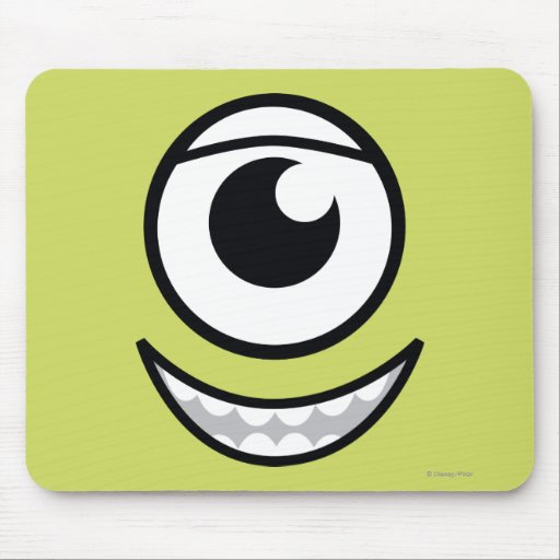 Mike Face Mouse Pad