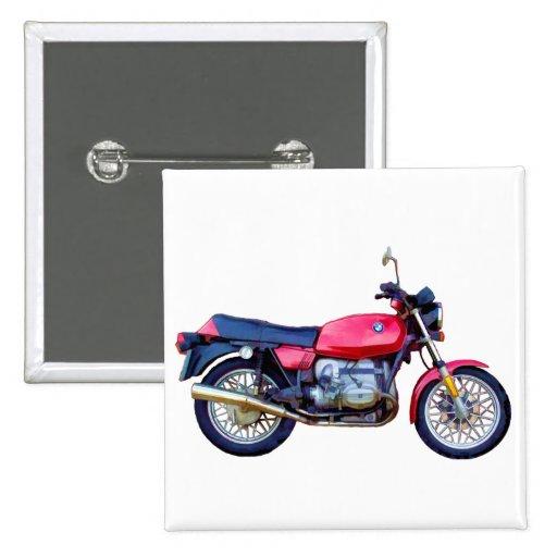 Mike Garrett Motorcycle Button