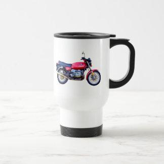 Mike Garrett Motorcycle Stainless Steel Travel Mug