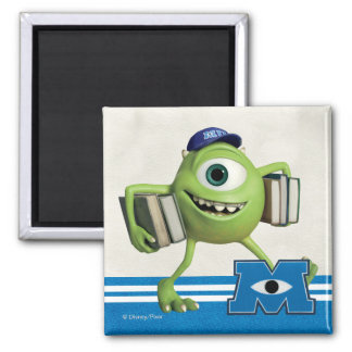 Mike Holding Books 2 Inch Square Magnet