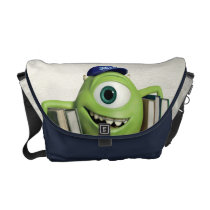 Mike Holding Books Courier Bag at Zazzle