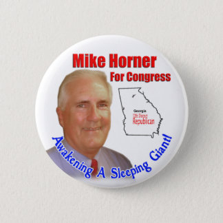 Mike Horner For Congress Button