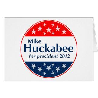 Mike Huckabee 2012 (v106) Card