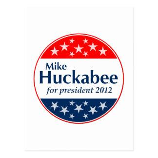 Mike Huckabee 2012 (v106) Postcard