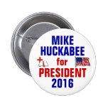 Mike Huckabee 2016 2 Inch Round Button