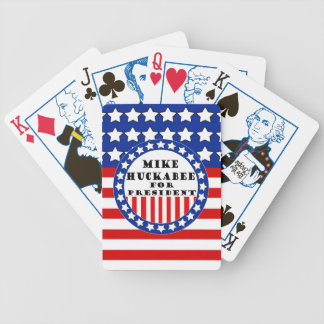 Mike Huckabee 2016 Bicycle Playing Cards