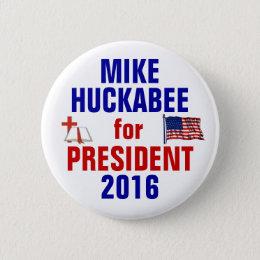 Mike Huckabee 2016 Button