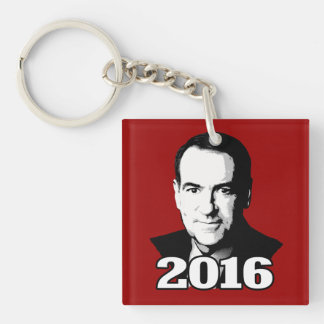 MIKE HUCKABEE 2016 CANDIDATE SQUARE ACRYLIC KEYCHAINS