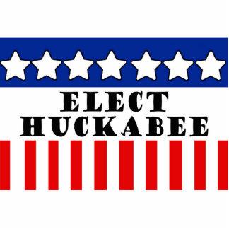 Mike Huckabee 2016 Fotoescultura Vertical