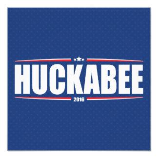 Mike Huckabee 2016 (estrellas y rayas - azul) Fotografía