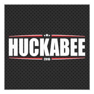 Mike Huckabee 2016 (estrellas y rayas - negro) Impresiones Fotográficas