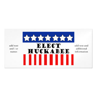 Mike Huckabee 2016 Magnetic Invitations