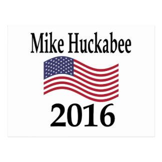 Mike Huckabee 2016 Postcard
