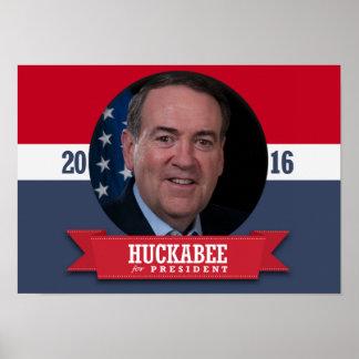 MIKE HUCKABEE 2016 PÓSTER