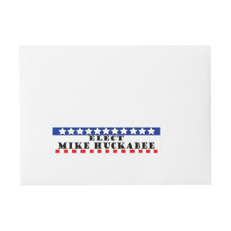 Mike Huckabee 2016 Wraparound Address Label