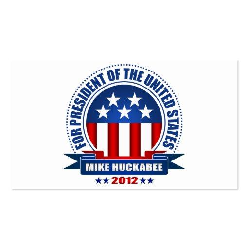 Mike Huckabee Business Card