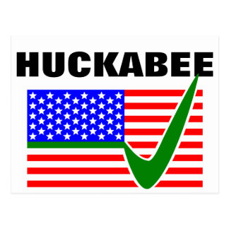 Mike Huckabee for President 2014 Postcard