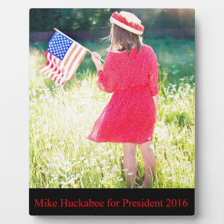 Mike Huckabee for President 2016 Plaque