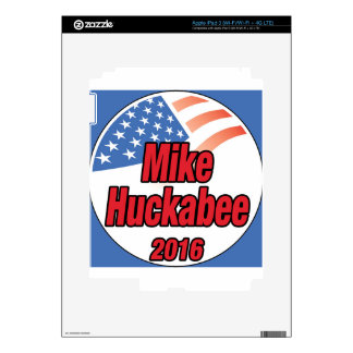 Mike Huckabee for President in 2016 Decals For iPad 3