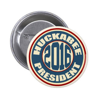 Mike Huckabee for President in 2016 Pinback Button