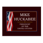 Mike Huckabee for President V3 Postcard